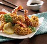 Walnut shrimp appetizer