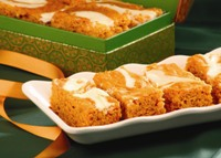Pumpkin Swirl Bars Recipe
