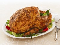 Roast Turkey with Spice Rub Recipe