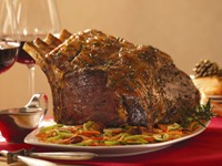 Maple Rib Roast Recipe